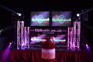 Asian wedding DJs, Indian wedding Bhangra DJ, Sikh wedding, Singh wedding, led screen hire,Magna Sheffield