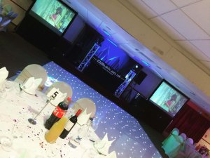 Small wedding Silver Package Deal with led floor  BOOK NOW