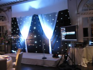 heavy duty stage hire asian wedding
