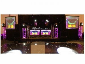 Indian Asian wedding DJ Savoy Hotel