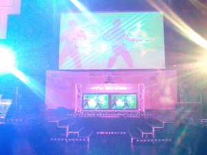 PC gaming show, led screen hire light show