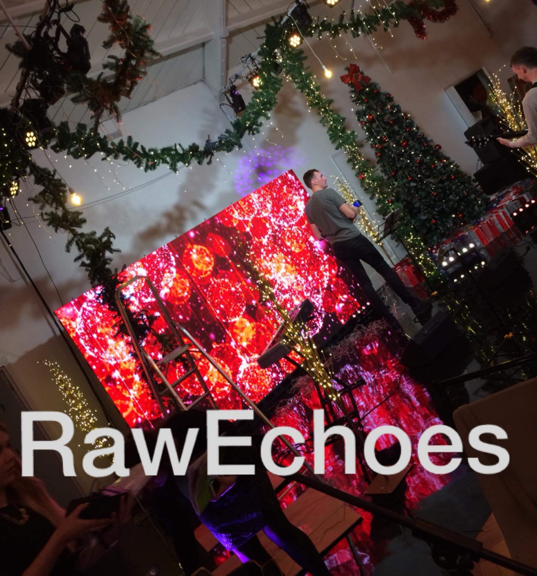 LED screen Hire at Church event Bethnal green