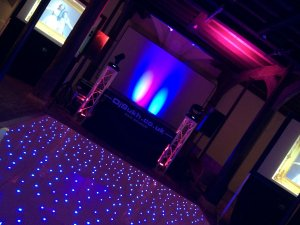 hampton court palace SILVER PACKAGE with extra LED FLOOR