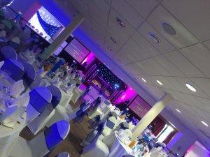 Gujarati wedding decor dj lighting leicester